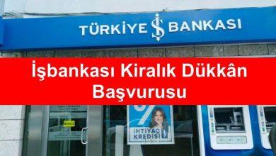 İş Bankası Kiralık Yer