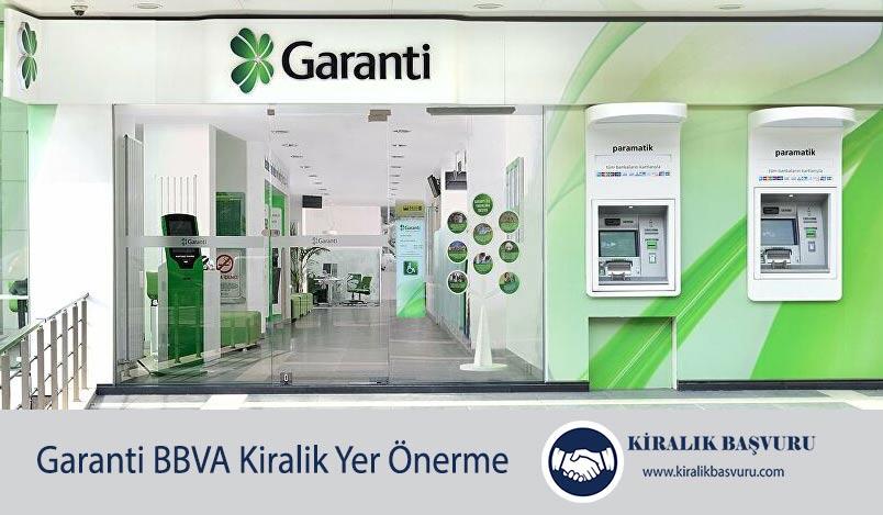 Garanti Bankası ATM Yeri Önerme