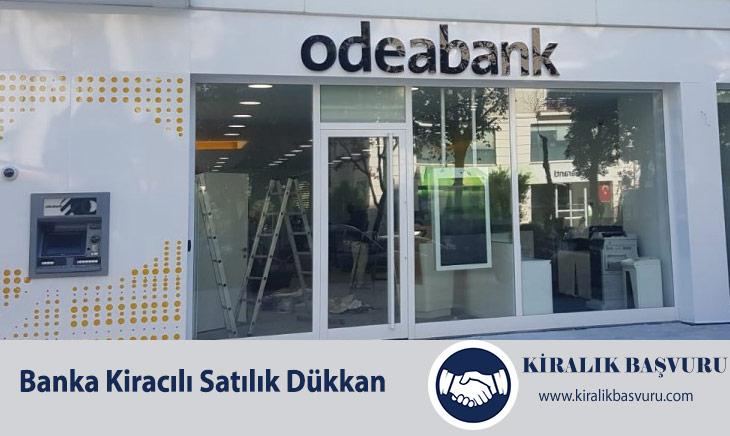 Banka Kiracılı Satılık Dükkan