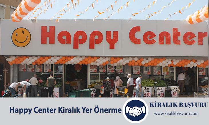 Happy Center Kiralık Yer Önerme ve Başvuru