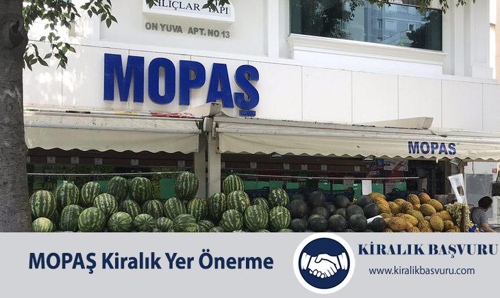 Mopaş Market Kiralık Dükkan Yeri Önerme