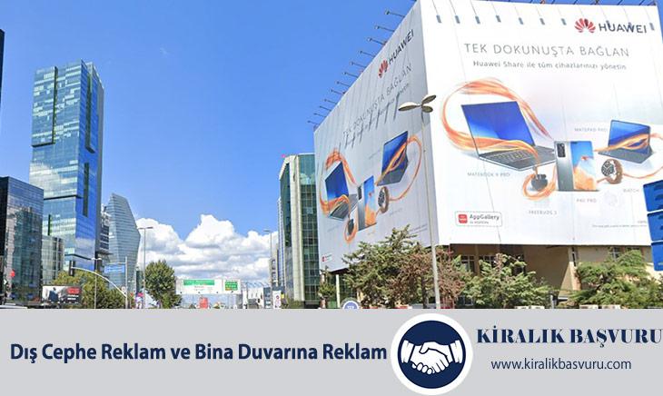 Dış Cephe Reklam ve Bina Duvarına Reklam Almak