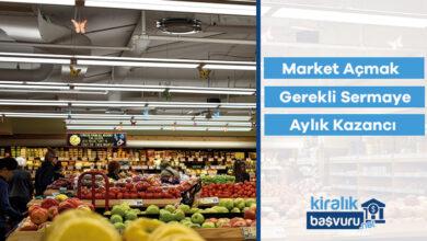 Market Açmak İçin Gerekli Sermaye