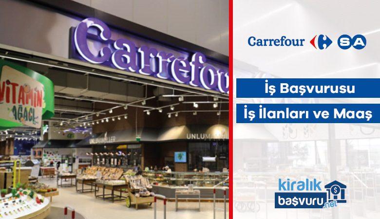 Carrefour İş Başvurusu